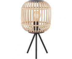 EGLO Tischleuchte BORDESLEY, E27 schwarz Tischleuchten SOFORT LIEFERBARE Lampen Leuchten