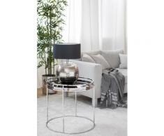 Fink Beistelltisch TRIEST, (Set, Tablett mit Ständer) schwarz Beistelltische Tische Tisch