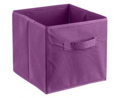 ADOB Aufbewahrungsbox Faltbox, (1 St.), Faltbox mit Griff lila Körbe Boxen Regal- Ordnungssysteme Küche Ordnung