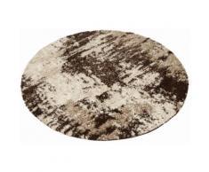 Teppich, Hannes, my home, rund, Höhe 30 mm, maschinell gewebt beige Moderne Teppiche Unisex