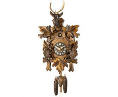 Christoffel Pendelwanduhr Kuckucksuhr braun Wanduhren Uhren Wohnaccessoires