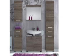 trendteam Wandspiegel Skin, Breite 60 cm, mit praktischer Ablagefläche grau Spiegel Wohnaccessoires