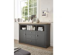 Home affaire Sideboard Westminster grau Sideboards Kommoden