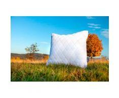Dunlopillo Microfaserkissen Kopfkissen 80x80 cm, (1 St.) weiß Allergiker Bettdecken, Unterbetten
