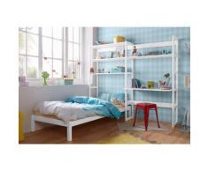 Hoppekids Jugendzimmer-Set Skagen (Set 13-tlg), weiß, weiß lackiert/Kiefer massiv