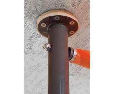 Angerer Freizeitmöbel Klemmmarkise, orange-braun, Ausfall: 150 cm, versch. Breiten orange Klemmmarkise Klemm-Markisen Markisen Garten Balkon