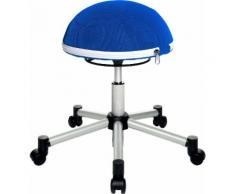 TOPSTAR Drehhocker Sitness Half Ball blau Bürostühle Arbeitszimmer und Büro Möbel sofort lieferbar