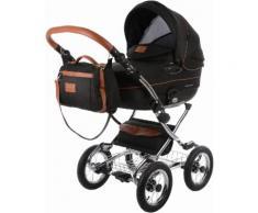 knorr-baby Kinderwagen Set, »Classic Premium, schwarz«, schwarz, Unisex, schwarz