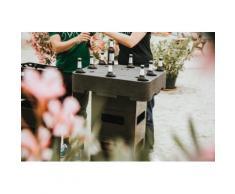 Siena Garden Gartentisch schwarz Gartenmöbel Gartenparty Aktionen Themen Tisch