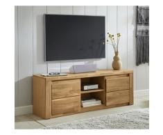 Premium collection by Home affaire Lowboard Burani, grifflose Optik braun Lowboards Kommoden Sideboards
