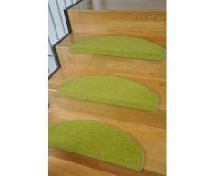 Stufenmatte Trend Living Line stufenförmig Höhe 8 mm maschinell getuftet, grün, grün