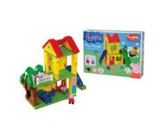 BIG Konstruktions-Spielset BIG-Bloxx Peppa Wutz Play House, (75 St.) bunt Kinder Bausteine Bausätze Bauen Konstruieren