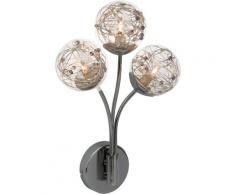 Brilliant Leuchten Wandleuchte, G9, Joya Wandleuchte 3flg chrom silberfarben LED-Lampen LED-Leuchten SOFORT LIEFERBARE Lampen