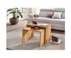 PRO Line Satztisch braun Couchtische eckig Tische Tisch
