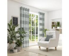 Neutex for you Vorhang SONORA, 3D Musterung im Leinen-Look grau Wohnzimmergardinen Gardinen nach Räumen Vorhänge
