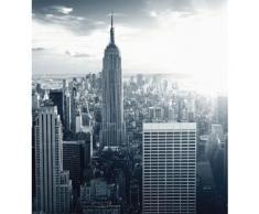 Vliestapete The Empire State Building grau Fototapeten Tapeten Bauen Renovieren