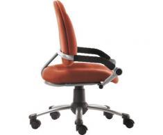 Mayer Sitzmöbel Drehstuhl Kinder- und Jugenddrehstuhl myFREAKY, mitwachsend orange Drehstühle Bürostühle Stühle Sitzbänke
