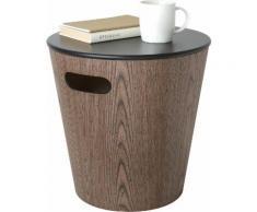 Umbra Ablagetisch Woodrow Storage Stool braun Beistelltische Tische Tisch