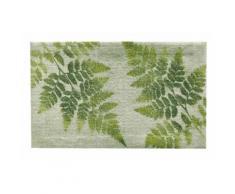 Fußmatte FARN 5 Gr ohne Gummirand, waschbar grün Fußmatten gemustert