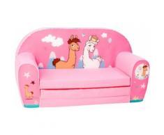 Knorrtoys Sofa NICI La-La-Lama Lounge rosa Kinder Kindersessel Kindersofas Kindermöbel Sofas