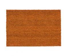 Fußmatte, Kokosvelours 106, ASTRA, rechteckig, Höhe 16 mm, Naturprodukt gelb Kokos Fußmatten Teppiche