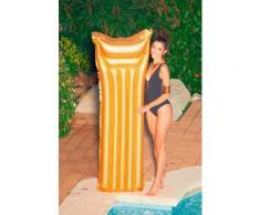 Bestway Luftmatratze Gold, BxLxH: 54x170x15 cm goldfarben Wasserspielzeug Pools Planschbecken Garten Balkon