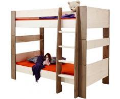 STEENS Etagenbett FOR KIDS, mit Leiter, in verschiedenen Farben weiß Kinder Kinderbetten Kindermöbel