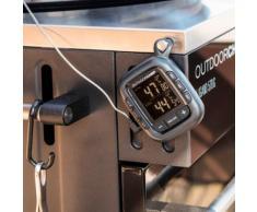 OUTDOORCHEF Grillthermometer Gourmet Check grau Zubehör für Grills Garten Balkon Temperaturmessgeräte