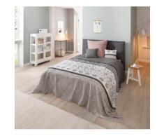 Home affaire Tagesdecke Cremona, auch als Tischdecke und Sofaüberwurf einsetzbar grau Baumwolldecken Decken