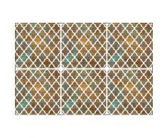 queence Getränkeuntersetzer GC0103, aus Acrylglas goldfarben Untersetzer Küchenhelfer Haushaltswaren