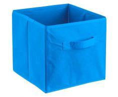 ADOB Aufbewahrungsbox Faltbox, (1 St.), Faltbox mit Griff blau Körbe Boxen Regal- Ordnungssysteme Küche Ordnung