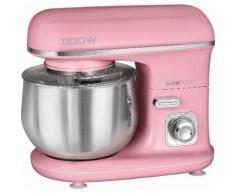 CLATRONIC Küchenmaschine KM 3711 pink, 1100 Watt, Schüssel 5 Liter rosa Multifunktionsküchenmaschinen Küchenmaschinen Haushaltsgeräte ohne Kochfunktion