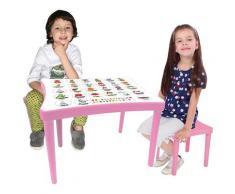Jamara Kindersitzgruppe Easy Learning rosa Kinder Kindermöbel Möbel sofort lieferbar