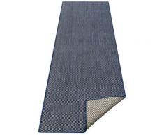 Läufer, Rhodos, my home, rechteckig, Höhe 3 mm, maschinell gewebt blau Küchenläufer Läufer Bettumrandungen Teppiche