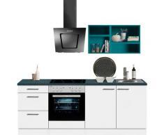 OPTIFIT Küchenzeile Mini, ohne E-Geräte, Breite 210 cm blau Singleküchen Küchenzeilen -blöcke Küchenmöbel Arbeitsmöbel-Sets