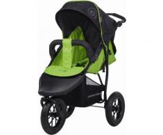 "Knorrbaby Jogger-Kinderwagen ""Joggy S Happy Colour grün"", grün, Unisex, grün-schwarz"