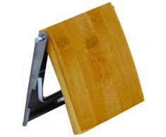 MSV Toilettenpapierhalter, mit Holzdeckel braun Toilettenpapierhalter WC-Zubehör Badaccessoires Badmöbel
