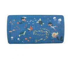 spirella Wanneneinlage Scuba Diver, rutschhemmend, pflegeleicht blau Wanneneinlagen Badewannen Whirlpools Bad Sanitär