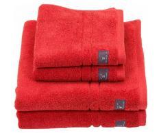 Gant Waschlappen Premium rot Waschhandschuh und Handtücher Badetücher