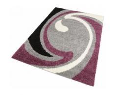 my home Hochflor-Teppich Tarragona, rechteckig, 30 mm Höhe, Wohnzimmer grau Esszimmerteppiche Teppiche nach Räumen