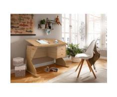 Home affaire Schreibtisch Rio, beige, natur geölt