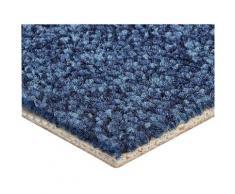 Bodenmeister Teppichboden Schlinge Büro, rechteckig, 6 mm Höhe, Meterware, Breite 500 cm, uni, Wunschmaß blau Bodenbeläge Bauen Renovieren