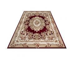 Festival Teppich Oriental 115, rechteckig, 11 mm Höhe, Orient Look, Kurzflor rot Esszimmerteppiche Teppiche nach Räumen