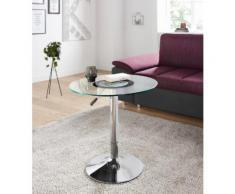 Paroli Beistelltisch silberfarben Beistelltische Tische Tisch