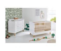 Pinolino Babymöbel-Set Pan (Spar-Set 2-tlg), weiß, weiß