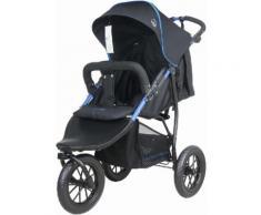 knorr-baby Jogger-Kinderwagen, »Joggy S, schwarz-blau«, schwarz, Unisex, schwarz-blau