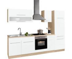 HELD MÖBEL Küchenzeile Eton, ohne E-Geräte, Breite 270 cm weiß Küchenzeilen Geräte -blöcke Küchenmöbel