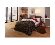 my home Tagesdecke Stella, auch als Tischdecke und Sofaüberwurf einsetzbar grau Tagesdecken Decken