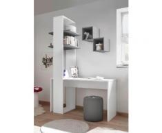 LC Büro-Set Enjoy, (Set, 3 tlg.) weiß Schreibtische Bürotische und Büromöbel