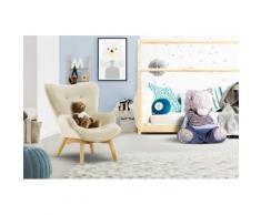 Lüttenhütt Sessel Duca Mini, in kleiner Ausführung für Kinder beige Ohrensessel und Hocker Sofas Couches